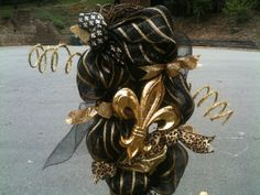 New Orleans Saints Black and Gold Swag