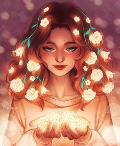 Girly Drawings, Anime Girl Drawings, Anime Art Girl, Pretty Art, Cute Art, Cartoon Girl Drawing, Girl Drawing Pictures, Beautiful Fantasy Art, Art Et Illustration