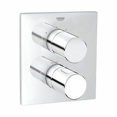 Grohe Grohtherm 3000 C - Thermostat mit integrierter 2-Wege-Umstellung chrom | Grohe Grohtherm 3000 C - Thermostat with integrated 2-way diverter chrome