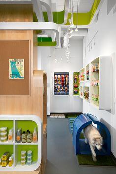 My Fluffy Friend's Pet Shop by MCM Interiors, Vancouver store design
