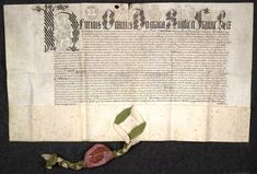 Deed granted by Henry VIII for the dowry for Anne of Cleves upon their marriage.