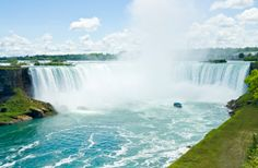 The 10 Most Beautiful Places To Visit In North America - Facts & Information - Beautiful World Travel Guide National Geographic, Niagara Falls Hotels, Clifton Hill, Deck Steps, Vegas Style, Banff National Park, Stay The Night, Beautiful Places To Visit, Natural Wonders