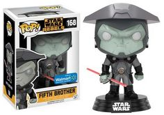 Funko Pop Star Wars Rebels #166 The Fifth Brother Walmart Exclusive