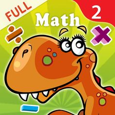 LogTera #2nd Grade Math is a unique app combining comprehensive learning with high quality entertainment and fun for children #ages 4 to 8 years.