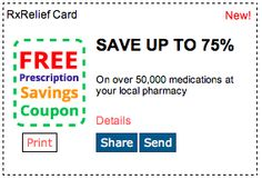 Save up to 75%! Click for more great deals! #Coupons #Deals #Prescriptions