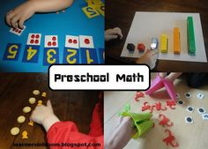 Learners in Bloom: Favorite Preschool Math Ideas