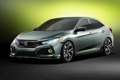 2017 Honda Civic Hatchback front view