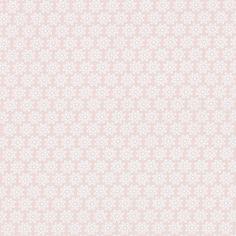 kankaita.com Cotton Pastellikukka 1 - Puuvilla - ruusunpunainen