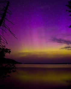 northern lights in Maine - Google Search
