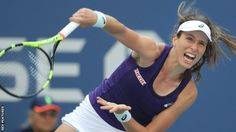 British number one Johanna Konta has been knocked out of the US Open in the last…
