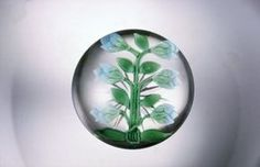 Paperweight with Flower Buds | Corning Museum of Glass