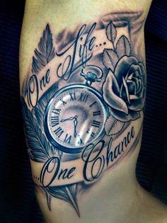 one life one chance tattoo - Google 搜尋