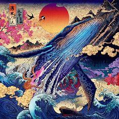 Impetuous World Life – Les magnifiques illustrations colorées de Rlon Wang   Ufunk.net