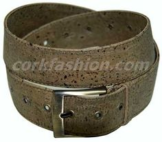 Cork Belt (model RC-GL0104001011 (2) - Eco-friendly - made of real cork. From www.corkfashion.com