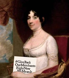 born in NC. wife of our President James Madison.saved White House's historic Gilbert Stuart portrait of George Washington from certain destruction by advancing British troops during the War of She was born in Guilford Co. James Madison, First Lady Of America, Us First Lady, Second Wife, Us History, Women In History, American History, History Photos, Texas History