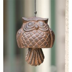 Aluminum Owl Bell | Wind Chimes