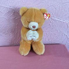 "Ty Hope Praying Bear Beanie Buddies Baby Plush Stuffed Animal 11"" Hang Tag 1999 #Ty #hope #Praying #plushstuffedanimal #beaniebaby #designsbym #ebay"