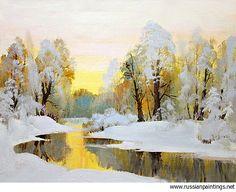 Antonow Nikolay - 'The First Snow'
