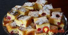 Najlepšie tvarohové dezerty: Tá tvarohová bábovka je úplne TOP! Waffles, French Toast, Breakfast, Food, Basket, Morning Coffee, Meal, Essen, Hoods