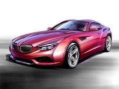 BMW Zagato Coupe Render
