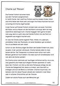 Neue Lesetexte Fur Die 1 Bis 6 Klasse Deutsch Lesen Lesen Lesen Uben