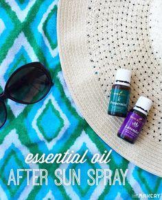 DIY Essential Oil Sun Protection & After Sun Spray   Camp Makery
