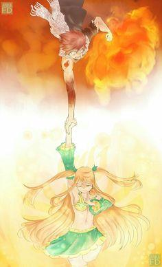 Natsu & Lucy #fairytail