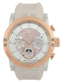 Women's Wrist Watches - Mulco Unisex MW311169113 Lincoln Illusion Chronograph Analog Swiss Movement Watch >>> Click on the image for additional details. (This is an Amazon affiliate link)