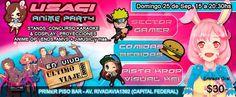 Kagi Nippon He ~ Anime Nippon-Jin: USAGI Anime Party 2016 - Buenos Aires…