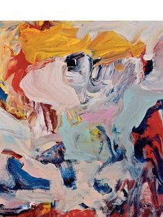 Abstract Expressionist Painting by Willem De Kooning. Willem De Kooning, Art Inspo, Inspiration Art, Action Painting, Painting Lessons, De Kooning Paintings, Expressionist Artists, Abstract Expressionism Art, Abstract Art Paintings