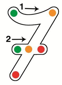 Hoe schrijf je de cijfers? : Stoplichtcijfers - KlasCement Activities For Kids, Crafts For Kids, Numbers Preschool, Lego Duplo, Kindergarten, Homeschool, Projects To Try, About Me Blog, Letters