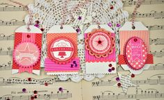 Birthday Tags  from My Favorite Things by Dawn McVey (dawnsing)