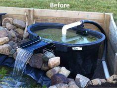 1000 images about pond bog filter ideas and designs on for Pond filter media ideas