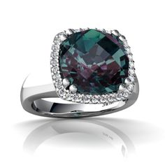 Purple & green.... Our favorite colors mixed together.  So rare...like us.  Alexandrite RINGS