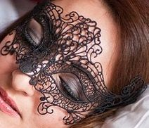 going elegant this year? Black Lace Mask Embroidery Lace Mask Halloween by HigginsCreek