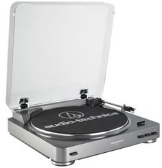 AT-LP60 Fully Automatic Stereo Turntable System (best turntable under a hundred bucks- currently $85.90 on Amazon)