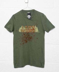 Bloody I Got Wood T Shirt - Olive / Medium