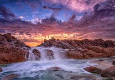 """""""Inferno"""" Mother Nature at her best! Western Australia's awesome coast..(6431 x 4487) davidashleyphotos http://ift.tt/2nwZ5Mf April 10 2017 at 04:47AMon reddit.com/r/ EarthPorn"""