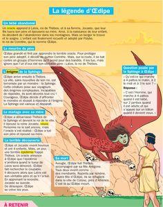 Fiche exposés : La légende d'Œdipe