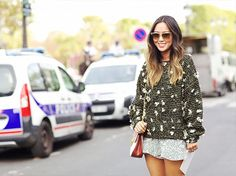 Why the Miniskirt Is Having a Major Moment This Fall via @WhoWhatWear