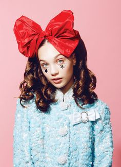 Maddie Ziegler's Sparkly Beauty Shoot for Paper Magazine YOUTH issue