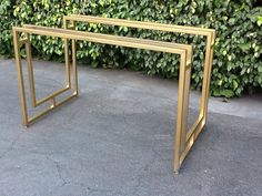 Hollywood Regency Desk or Table HOLD SHANNON by LIVVINTAGE on Etsy