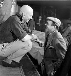 Yul Brynner and Gene Kelly