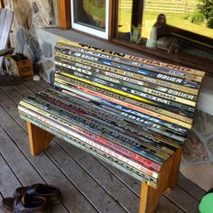 hockey stick furniture