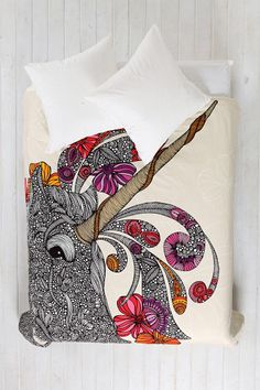 Valentina Ramos For DENY Unicornucopia Duvet Cover reminds me of Jolyne and thus i totally need it!!!! if only i had more cash . . .