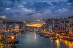 The Canal at Dusk by BlueMaxPhotography via http://ift.tt/2o5O6qc