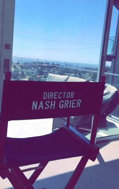 Nash's announcement is gonna be that he's directing a movie, I'm calling it