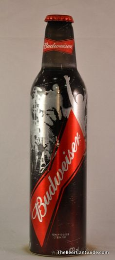Budweiser (Canadian Export/Osheaga Music Fest) Beer Aluminum Bottle Cabottle, 16 oz.