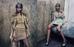 "nice Vogue Itália Setembro 2013 | Ondria Hardin em \""Private Elegance\"" por Paolo Roversi  [Editorial]"