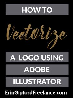 Adobe Illustrator Tutorial: Learn how to vectorize a logo in Adobe Illustrator.